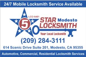 5 Star Locksmith Modesto