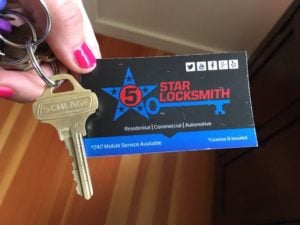 5 star locksmith inc