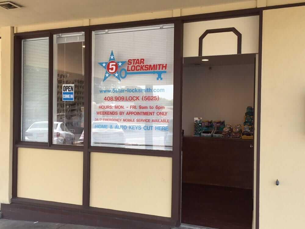 5 star locksmith shop - Store Locations