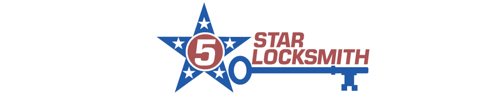 5 Star Locksmith Logo