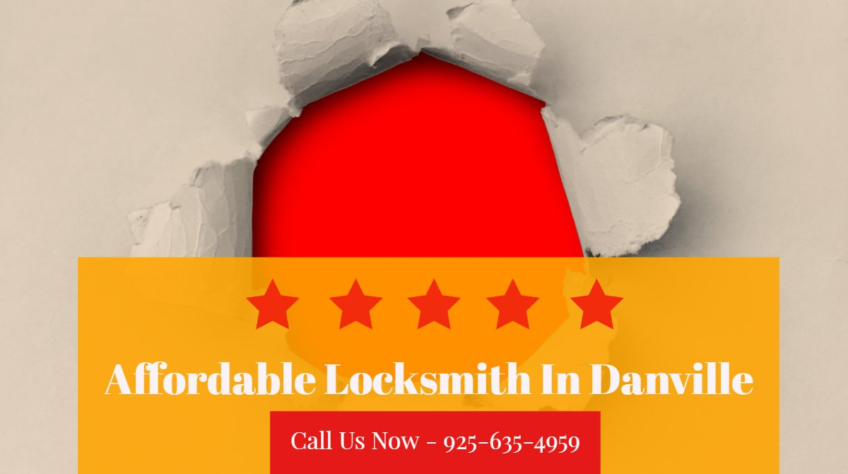 Affordable Locksmith Danville CA | Cheap Locksmith In Danville